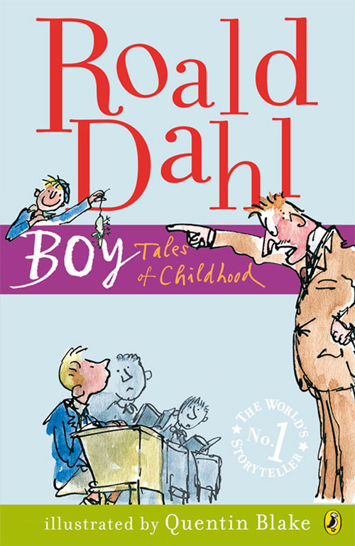 Boy By Roald Dahl Book Quote Monster