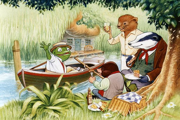 The Wind In The Willows By Kenneth Grahame Book Amp Quote